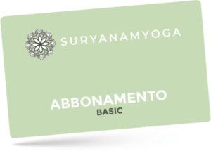 abbonamento yoga basic